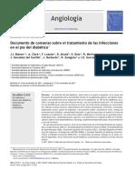 Consenso Sobre El Tratamiento de Las Infecciones en EL PIE DIABETICO SOC ESPAÑOLA