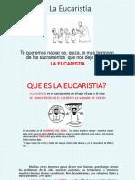 La Eucaristía 2
