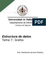 Estructura de Datos - Grafos