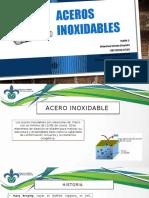 ACEROS INOXIDABLES