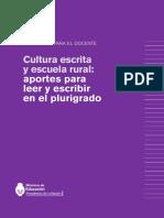 CUADERNO PARA EL DOCENTE CULTURA ESCRITA Y ESCUELA RURAL.pdf