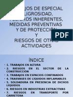 trabajosdeespecialpeligrosidadyriesgosdeotrasactividades-140402011215-phpapp02