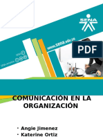 COMUNICAION ORGANIZACIONAL