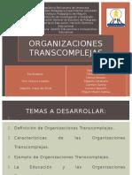 Organizaciones transcomplejas