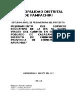 PERFIL I.E.P VIRGEN DEL CARMEN PAMPACHIRI AVANCE.doc
