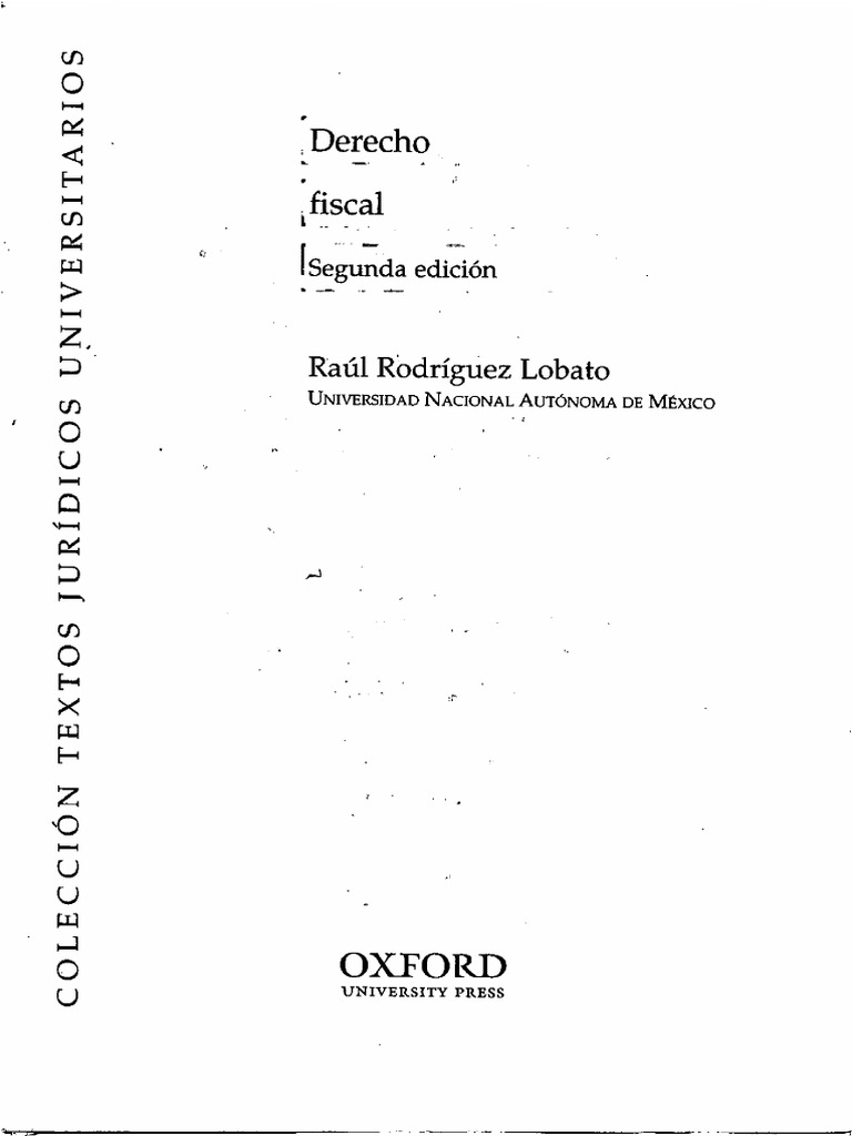 Derecho Fiscal - Raul Rodriguez Lobato -1 ab60e80d0d817