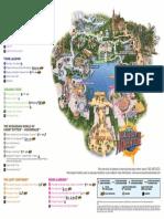 Isla de La Aventura Mapa