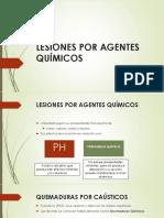 Lesiones Por Agentes Químicos