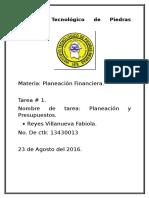 Pleneacion Financiera