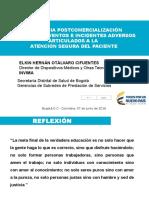 VIGILANCIA_POSTMERCADO_Y_LA_GESTION_DE_EIA _SEGURIDAD_DEL_PACIENTE_07_06_2016_PI.pptx