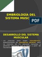 Tema 9-Morfogenesis Del Sistema Muscular