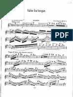 Wilhelm Popp - Valse Burlesque Op. 250, No.4 (Flute Part)