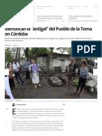 """Identifican El """"Antigal"""" Del Pueblo de La Toma en Córdoba _ La Voz Del Interior"""