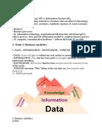 Bcom1 - Learning Outline