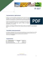 Ficha Tecnica R507
