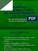 Tema -10-Desarrollo Embriológico y Fetal Del Aparato Digestivo y