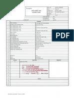 Flexible Hose Datasheet