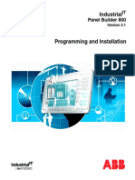 Panel800 Programming