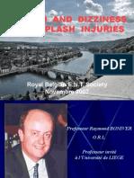 Vertigo and Dizziness in Whiplash Injuries (Royal Belgian e