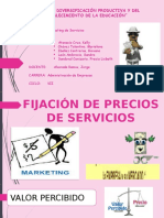 MKTNG DE SERVICIOS -FIJACIÓN DE PRECIOS DE SERVICIOS.pptx