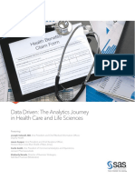 Data Driven Analytics Journey in HealthCare and LifeSciences