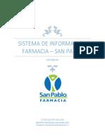 Propuesta Sistema de Informacion Farmacia San Jose