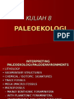 bahan Kuliah Paleoekologi