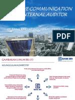 Internal Audit Communication BRI