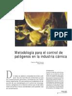 Control de Patogenos