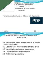 Clase de Sociología en La Organización (1)