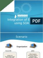 Integration of ERP's using SOA