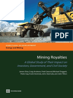 Mining Royalties, Global Study of Their Impact on Investors,Government, And Civil Society