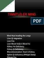 Tinnitus Presentation