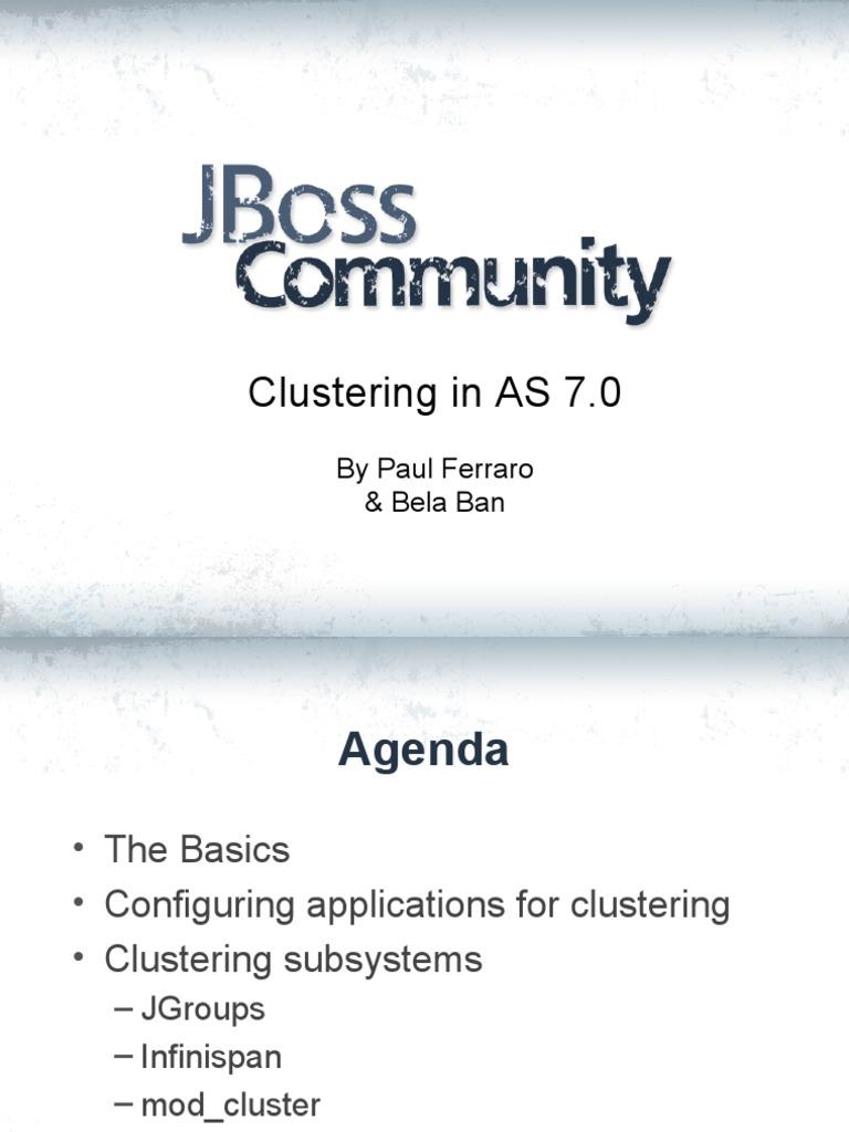 jboss AS7 Clustering   Cloud Computing (8 views)