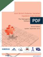 【医脉通•指南】2013+JBDS-IP指南:成人糖尿病酮症酸中毒的管理(第2版)
