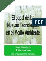 TICs y Medio Ambiente