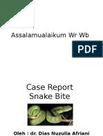 Ppt Snake Bite