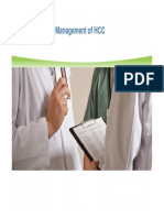 Detection and Management of HCC