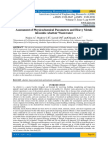 Assessment of Physicochemical Parameters and Heavy Metals inGombe Abattoir Wastewater