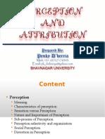 Perception & Attribution (Penky)