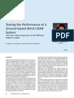 Testing Performance of Windcube