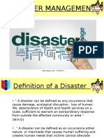 Disaster Management presentation
