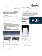 Packetfront Drg 230 Instalations Guide