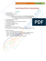 Oracle IProcurement Setup and Process Training Manual