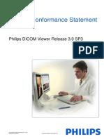 DICOM Conformance Statement for Philips DICOM