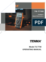 Tenma 72-7730 User Manual