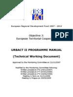 URBACT II PROGRAMME MANUAL