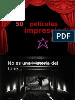 50 películas imprescindibles