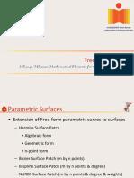 ME3040 & ME5090_20160912- Freeform Surfaces