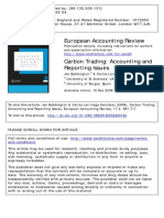 Bebbington, Jan, And Carlos Larrinaga-González. Carbon Trading Accounting and Reporting Issues